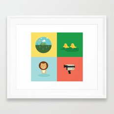 babylion Framed Art Print