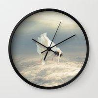 Free Falling Dream Wall Clock
