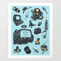 Artifacts: Fallout Art Print