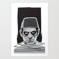 Imhotep Art Print