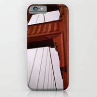 iPhone & iPod Case featuring Golden Gate by Bubblesquat