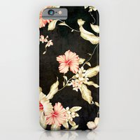iPhone Cases featuring VINTAGE FLOWERS III - for iphone by Simone Morana Cyla