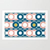 Ring-A-Ding Art Print