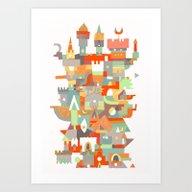 Art Print featuring Structura 8 by C86 | Matt Lyon