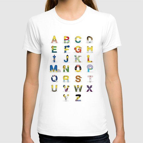 Simphabet T-shirt