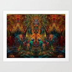Lemuria Art Print