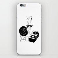 DJ Snail iPhone & iPod Skin