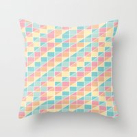 Vintage Candy Throw Pillow