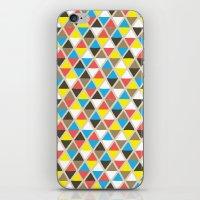 Tribal Triangles iPhone & iPod Skin