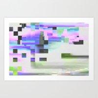 Scrmbmosh30x4b Art Print