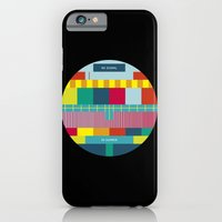 iPhone & iPod Case featuring NØ SIGNAℓ by Efi Tolia