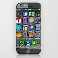 iPhone & iPod Case featuring iPhone by Jenny by Illustrated by Jenny