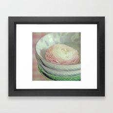 Porcelaine Framed Art Print