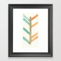 Broken Arrow Framed Art Print