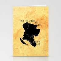 Those That Lie Down With Dogs, Get Up with Fleas Stationery Cards