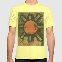 SUN Mens Fitted Tee Lemon SMALL