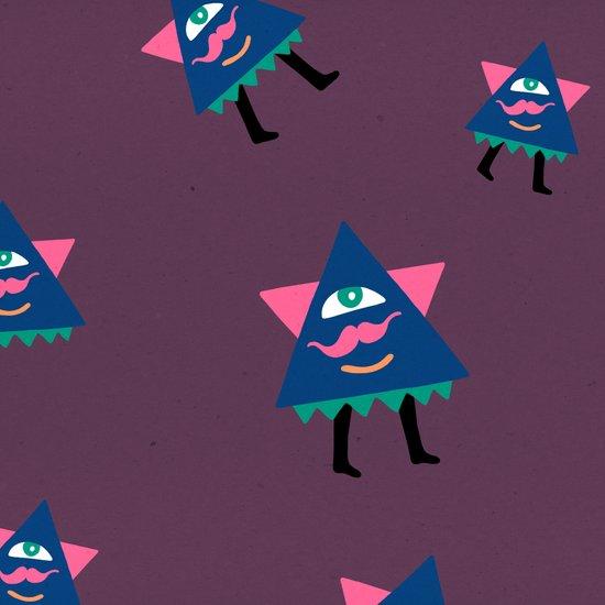 """Mr. Triangle"": ChiChiLand Everyday #345 Canvas Print"