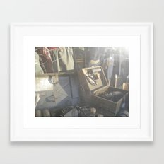 Time Marches On Framed Art Print