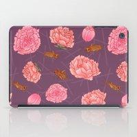Carnations & Crickets iPad Case
