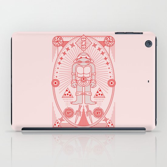 Raph Pizza Jam  iPad Case
