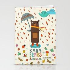 Baby Bears Icecar Stationery Cards