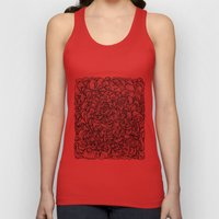 Squigg Block Unisex Tank Top