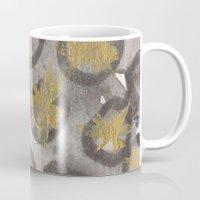 Circles and gold Mug