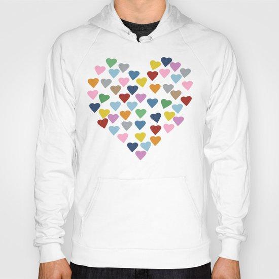 Hearts #3 Black Hoody