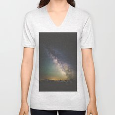 Milky Way IV Unisex V-Neck