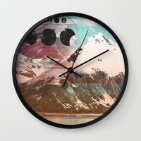 Mountainous Range Wall Clock
