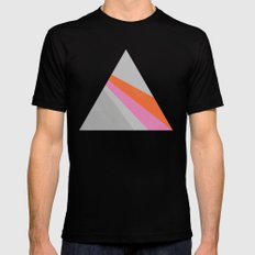 Sun on the wall SMALL Mens Fitted Tee Black