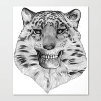 TIGERSKULL Canvas Print