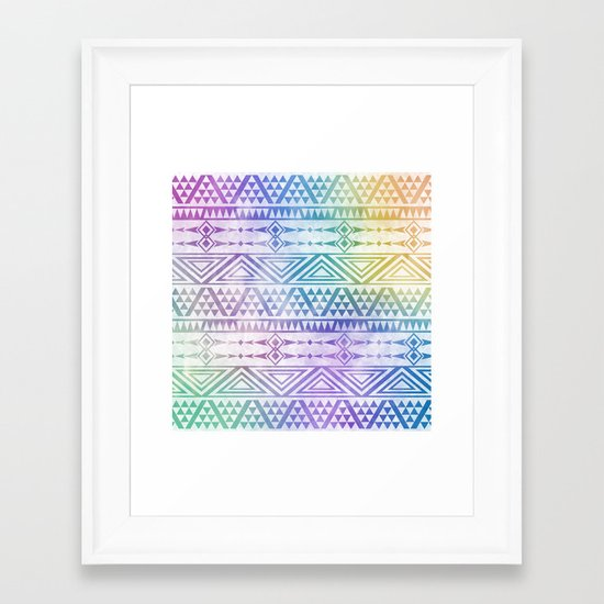 Tribal Voice Framed Art Print