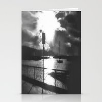 Morning Awakes The Harbo… Stationery Cards