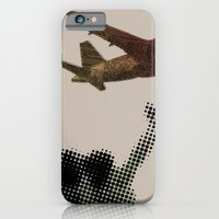 iPhone & iPod Case featuring Dad's on that paper flight again by Triplea