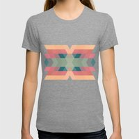 Navajo 4 Womens Fitted Tee Tri-Grey SMALL