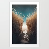 Art Print featuring Lost by Megan Elphick