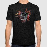 Psychedelic Clown Mens Fitted Tee Tri-Black SMALL