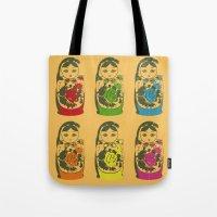 matryoshka dolls Tote Bag