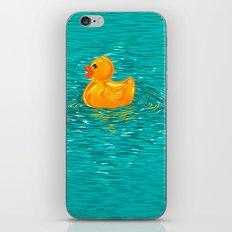 Quack Quack Says the Plastic Duck! iPhone & iPod Skin