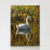 Idle Swan Stationery Cards