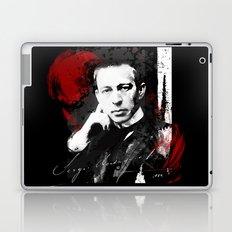 Sergei Rachmaninoff - Russian Pianist, Composer, Conductor Laptop & iPad Skin