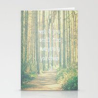Seek & You Shall Find  Stationery Cards