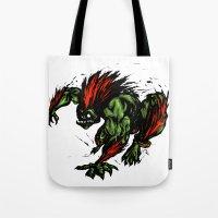 Blanka Rush! - Street Fi… Tote Bag