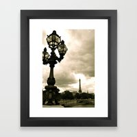 A Night In Paris Framed Art Print