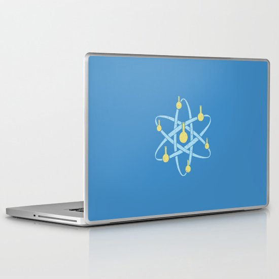 Atomic Tube Laptop & iPad Skin