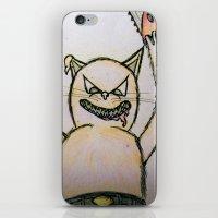 Killer Cat iPhone & iPod Skin
