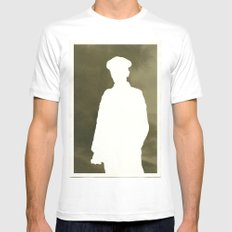 Soldier Mens Fitted Tee SMALL White