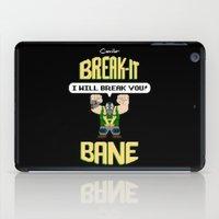 Break-It Bane iPad Case
