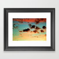 It was a beautiful day - photography  Framed Art Print